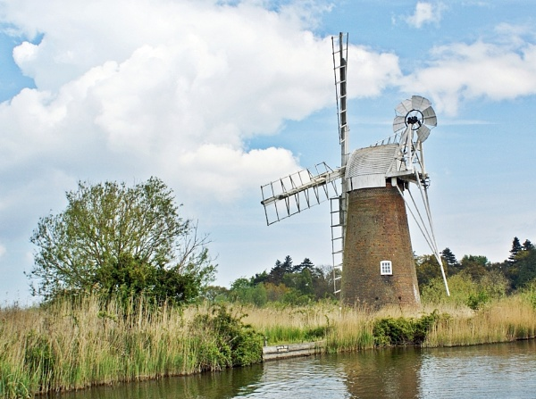 Mill by the river by cedaray