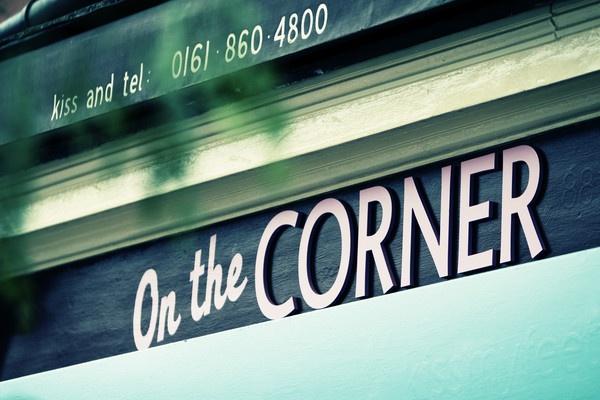 Kiss on the Corner by mcgrj4