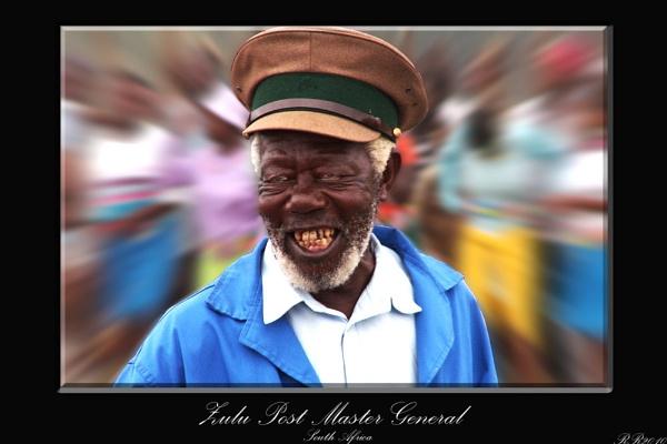 Zulu Post Master General by RickyRossiter