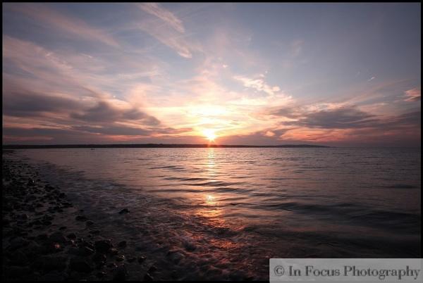 Llanddona sunset by In-Focus-Imaging