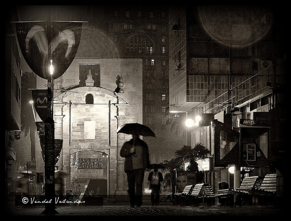 Rainy night by Gothic