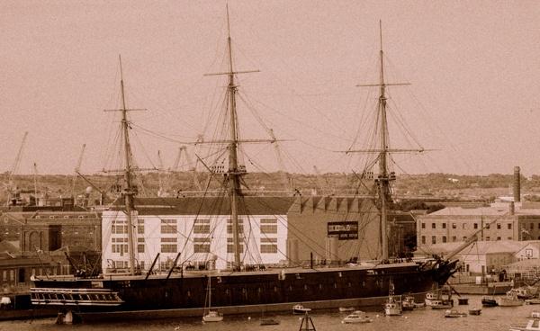 Portsmouth naval yard by Pentaxpaul
