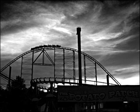 Kennywood Sunset by estrawser