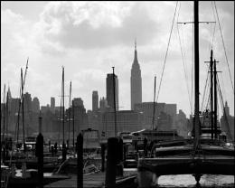 Masts on the Hudson