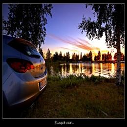 SUNSET CAR...