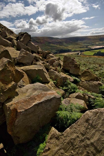 crowden on the rocks by antbow