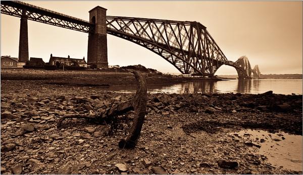Forth Bridge & Anchor by BigCol