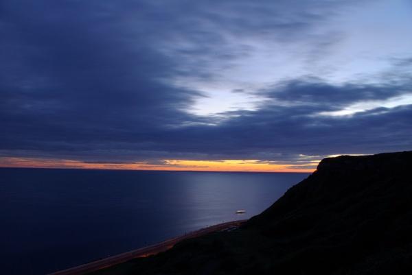 Scarborough sunrise by blakeyguin