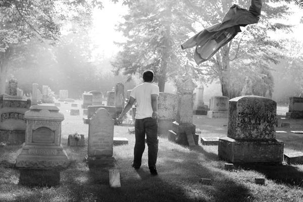 the cemetery by Apri1