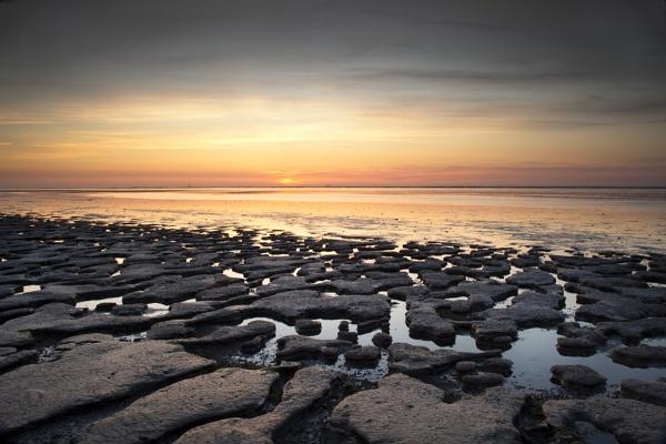 Moddergat sunset by SGIBBONS
