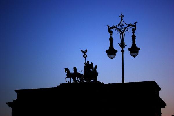 Brandenburg Gate by telstar500