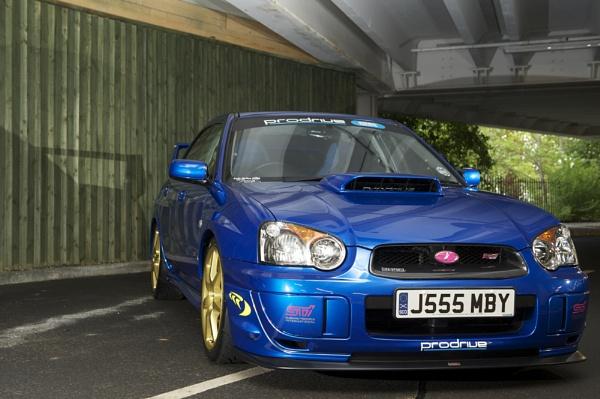 Subaru STi by digitalpic