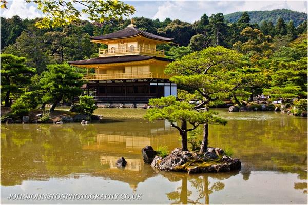 Kinkakuji (Golden Pavilion) by JohnJohnstonPhotography