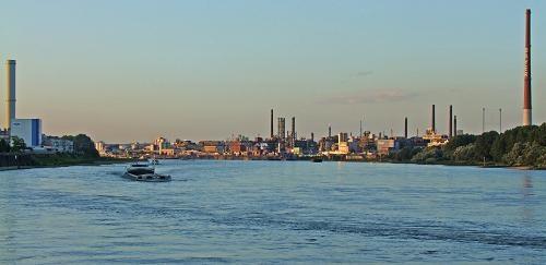 Rhine Evening by dj.lambert