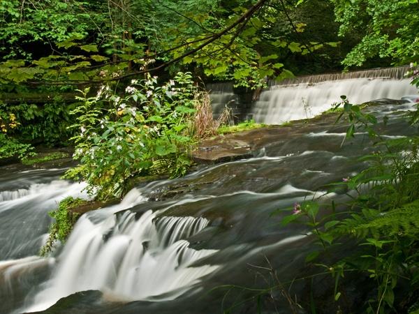 waterfall river ogden by stefan