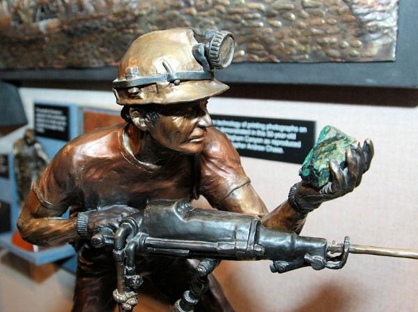 Copper Mine worker by chuckspics