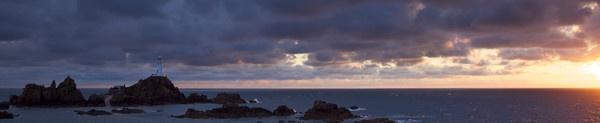 Corbiere Lighthouse,Jersey by JohnDeeprose