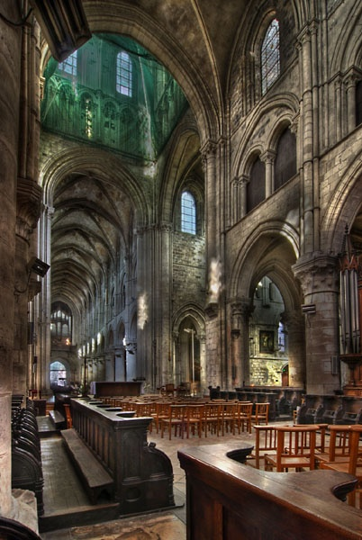 Choir Stalls View by Simon_Bull