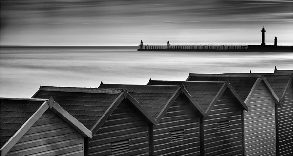 Beach Huts - Whitby by iansnowdon