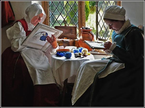Tudor Sewing by fentiger