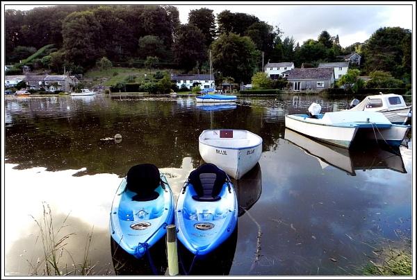 Blue Boats. by rpba18205