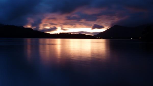 A Lake District Sunset by seaviewlou