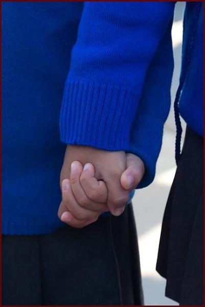 SchoolGirls-Friends by touchingportraits