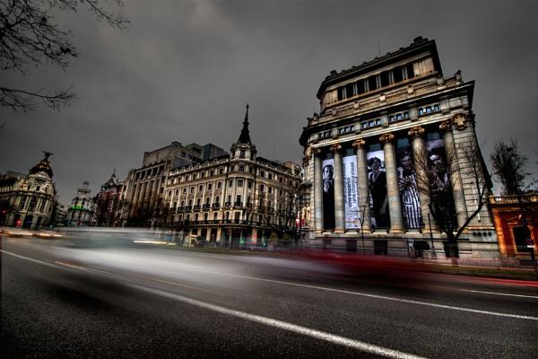 Transit in Madrid by Veom