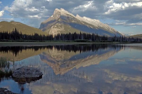Dusk at Vermilion Lake Banff by JohnJenkins99