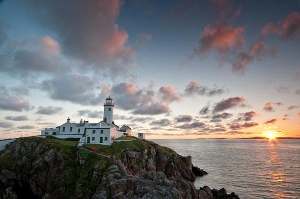 Sunrise at Fanad Lighthouse by irishman