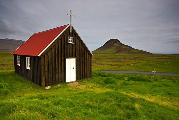 Krisuvik Church by simon_stacey