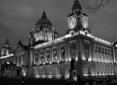 Floodlit Belfast City Hall
