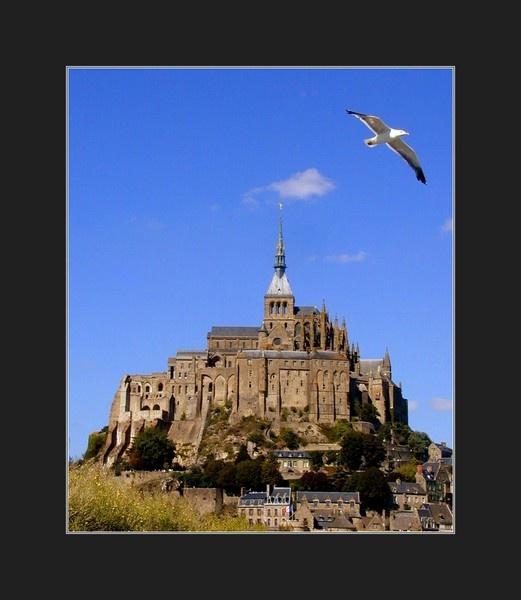 Mont Sainte Michel, Normandy by jacktheknife