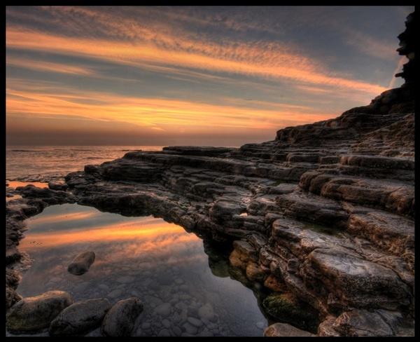 Rockpool Sunrise II by mpphotographics