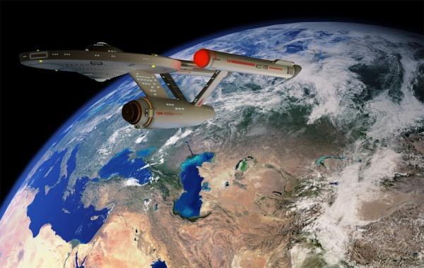 Warp speed Spock by Tonksfest
