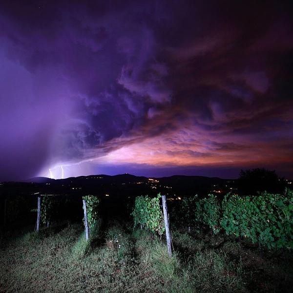 Tuscan Lightning by JamesAppleton