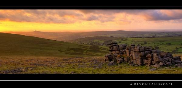A Devon Landscape by joelrouse