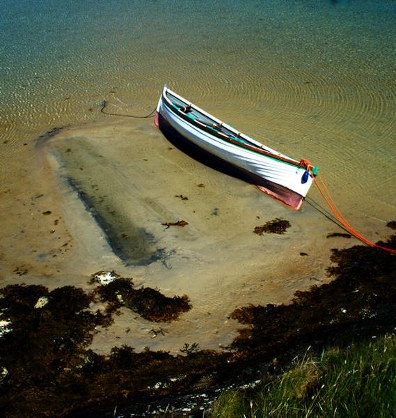 Boat,Gigha Island by lagil57