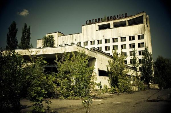 Pripyat - Pripyat Hotel by Alan86