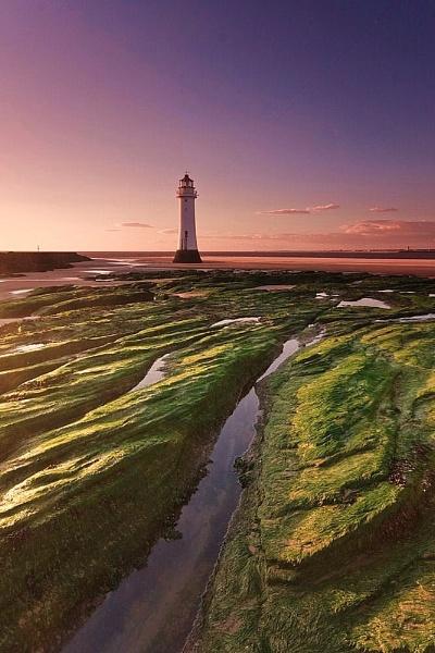New Brighton Sunset II by Warriorpoet