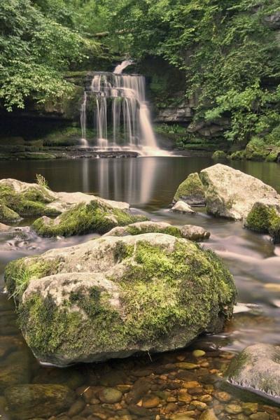 Waterfall II by Warriorpoet