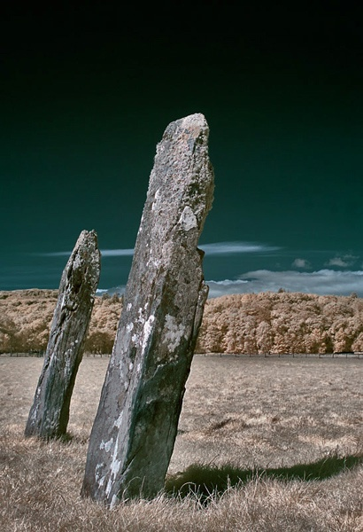 Kilmartin standing stones by cdavis