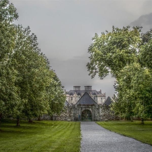 Portumna Castle entrance. by Keith121