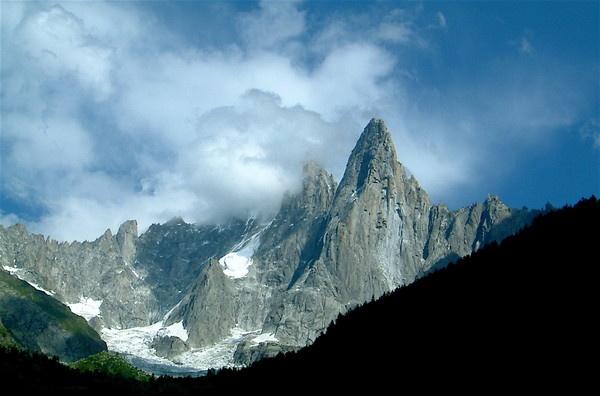 The Dru-Chamonix Valley