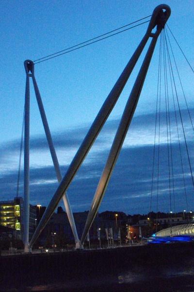 newport foot bridge by jones21