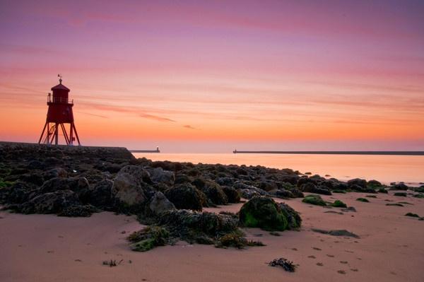 The Groyne Sunrise,South Shields by stevec85