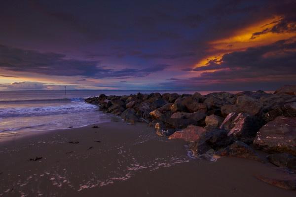 Sunset At Minehead by stevec85