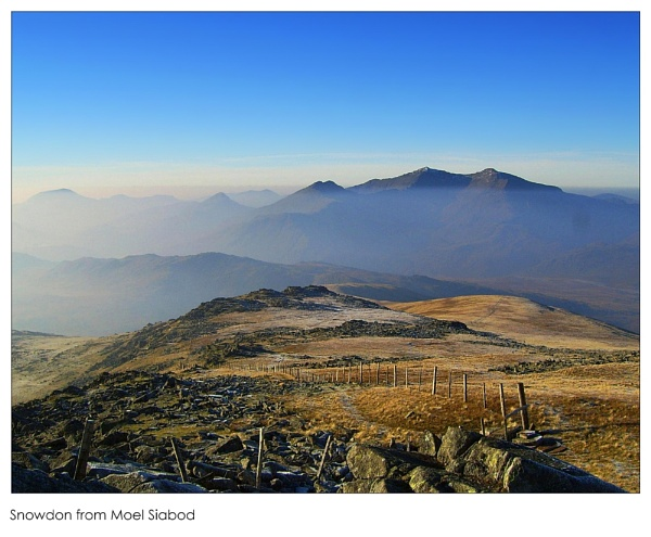 Snowdon from Moel Siabod by Ianto74