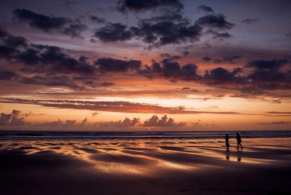 Sunset Walk by lorrainemx
