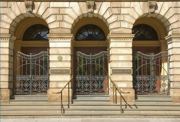 Supreme Court Building South Australia by scheery